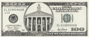 Your 100 dollar bill for the next Baker Library?