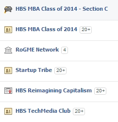 And overview of some of my HBS-related Facebook groups