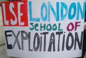"The London School of Exploitation – part of one of the many ""occupy"" events seen in the world in recent years - should we rethink education as well?"